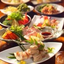 『石川産地鶏めしと2種のお肉堪能コース』料理8品 3H飲み放題付き 3000円