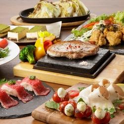 平日限定!!2500円で溶岩焼きに肉寿司、飲み放題までついたリーズナブルでお得なプランです!