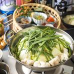 伝統を守りこだわりの食材が織りなす絶品『もつ鍋』