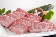 極上松阪牛の『あみ焼き』は、たれ・塩から選べます