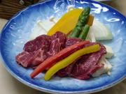 自家製のタレを使用してます。  (※牛肉2倍盛り 出来ます +550円)