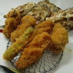 トッピング料理 『牡蠣フライ』