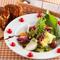ヘルシー&満腹感『旬野菜の山盛りサラダとグラタンパンセット』