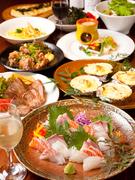 地産地消をテーマに、幅広い年齢層に支持される創作料理を提供