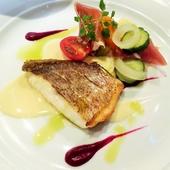 【おもてなしのフルコース】お魚料理