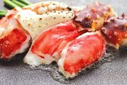 最強コース食べ放題!アワビと蟹の網焼き食べ放題 プラス40品目食べ放題 120分