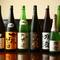 オーナーの目利きで取り揃えた、さまざまな日本酒を各種ご用意