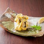 ホタルイカの酢味噌