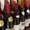 季節の味覚にあわせた銘ワインを堪能できます