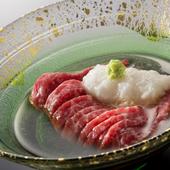 肉をさっぱりといただけるのが魅力の『肉そうめん』