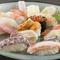 新鮮な北海道の味を堪能できる『握り ひきめ』