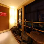 ビルの中に広がる小京都、大人のくつろげる隠れ家空間