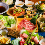新鮮食材を豊富に使用しております!