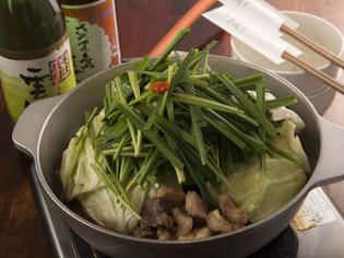 実はとても繊細な料理『もつ鍋 しょうゆ』