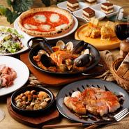 ※13:30までのご利用です ※一日、三組様限定です。 さらにランチコースでご予約を頂いたお客様には +500円でスパークリングワイン、赤ワイン、白ワインのご追加が可能です。