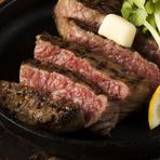 愛媛県の黒毛和牛ブランドである伊予牛は、あっさりとした甘みのある脂と、柔らかく、ほどよいサシが入っているのが特徴です。塩こしょう、タレ、どちらでも美味しくいただけます。