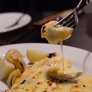 ラクレットチーズ付パーティープラン(4名様より)