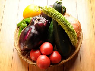 セオリーにとらわれず旬の野菜を様々な調理法でご提供しています