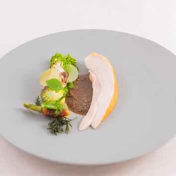 《早春のアンサンブル》信州の味覚 お肉かお魚のチョイス