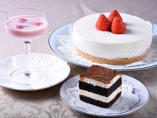 長年の経験を活かし、お客様のお口に合うようにつくる『ケーキ』