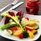 イタリアのクラシックなレシピの上質バーニャカウダソースでいただく『有機野菜の菜園風、バーニャカウダ』