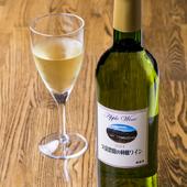 五一ワインの赤・白・スパークリング、林檎100%のワインも有