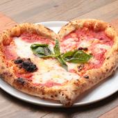 どんな形がでてくるかお楽しみ『焼きたてピッツァ』