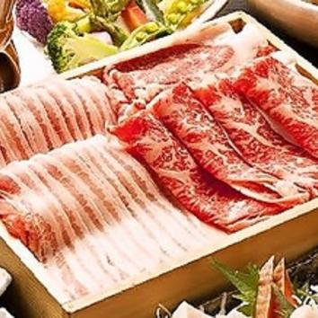 【限定3組】豚しゃぶorすき焼90分食飲放3480円 空席ある場合のみ