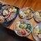 「料理2種盛り合わせ」もしくは「生パスタ」からメインが選べる『おまかせランチコース』平日限定ランチ!