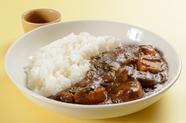 自家栽培野菜と豚バラ肉を熟成カレーでじっくり煮込んで深みを凝縮させた『煮込み野菜のポークカレー』