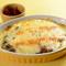 チーズたっぷり、ふぁふふぁトロトロ卵と熟成カレーが相性抜群のオムカレー