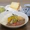 自家製シフォンケーキにドリンク付きでお得なセット『レディースセット』 カレーは3種類から選べます