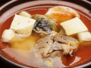 旨みが凝縮された上品な出汁が絶品『すっぽんの丸鍋』