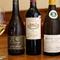 料理に合わせてフランス産ワインを厳選。グラスワインも充実