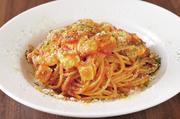 パンチェッタと玉ねぎを使ったローマの伝統料理にモッツァレラをのせて。トマトの酸味とクリーミーさが絶妙にマッチ。モッツァレラ専門店が提案するオリジナル・アマトリチャーナをお試しあれ。