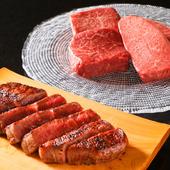 6種類から選んで味わう豪快かつ繊細な肉の旨味『厚切り1本焼き』