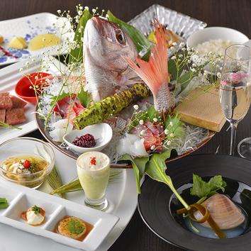 ●顔合わせお祝いコース 8000円 (7品)