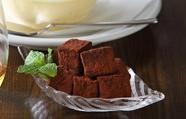 凛とした香りと程良い甘味の『生チョコ&ビターチョコ』