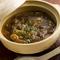 じっくり煮込んだ『馬ホルモン味噌煮込み』。関西風と東北風の2種類があります。 (150g)