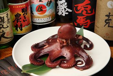 日間賀島から直送。柔らかな食感の『ゆでだこ』