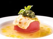 これぞ【Goodies】流!『とろーりチーズとやわらかトマトのおでん~ジェノベーゼソース~』