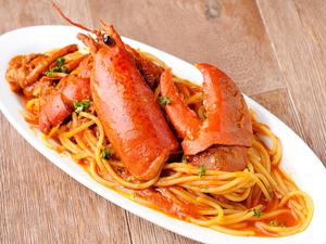 『オマール海老のトマトソーススパゲッティ!』