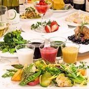 5色ソースで食べる オーガニック野菜のロースト