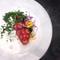 鮑 肝のフラン 塩水雲丹 蛤ジュレ