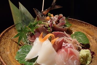 旬魚盛り合わせ ~風雅~