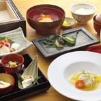 先付け 5種 引き上げ湯葉 季節の鮮魚盛合せ 箸休め 煮物 冷菜 御口直し 焼物 揚物 御食事 御吸物・香の物 本日の御宝石