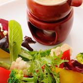 地野菜のバーニャカウダソース