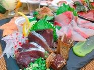 本日の鮮魚(SASHIMI)