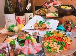 これぞ大満足コース! 美味しいお料理と充実したお飲み物でSendoをお楽しみください★★