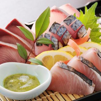 季節のお料理と活!!鮮魚コース 2名様~ お一人様 3000円